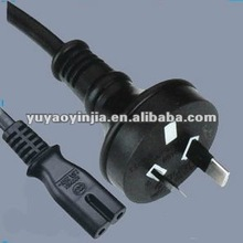 Australia SAA approved power cord to iec C7