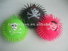 5inch skull face flashing puffer ball