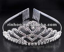 Rhinestone Comb crown