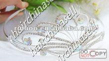 Wedding Comb Crown with AB Rhinestone