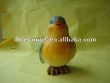 del pájaro del polyresin figura