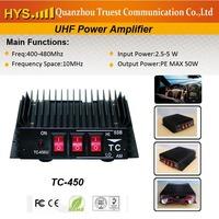 UHF Linear Amplifier TC-450