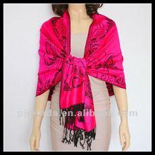2012 long fashion jacquard lady pashmina