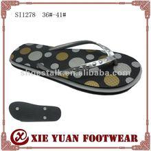 2012 PE ladies wadge heel flip flop