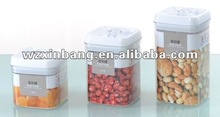 Airtight food container, easy lock container