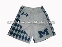 custom lacrosse shorts sublimated