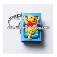 2012 Best Fashional Silicone Photo Frame Keyholder with Key BJO-KP009