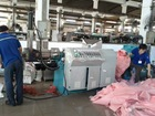 waste nonwoven fabric recycling machine
