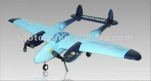 2 CH remote control Plane P-38