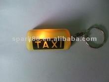 promotion plastic cheap car led keychain,car shape led key chain, car light key