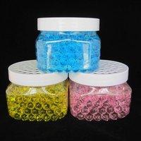 240ml Gel Air Freshener/Spicy Crystal Beads in big square jar