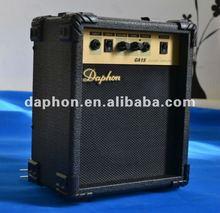 professional nice sound 15w Daphon electric/Acousitc guitar amplifier GA15