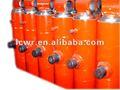 de alta presión del cilindro de acero