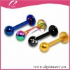 Beautiful body jewelry fashion labret piercing jewelry