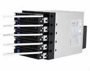 3.5'' half height device x 5, Interface 7 pin SATA 158