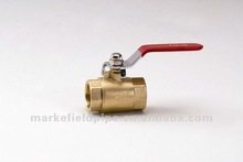 1/2' Long handle double female brass ball valve