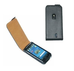 For Sony Xperia Neo MT15i genuine leather case pouch
