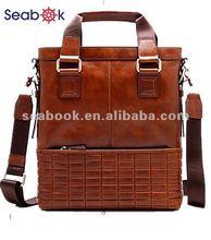 new style men's leather handbag