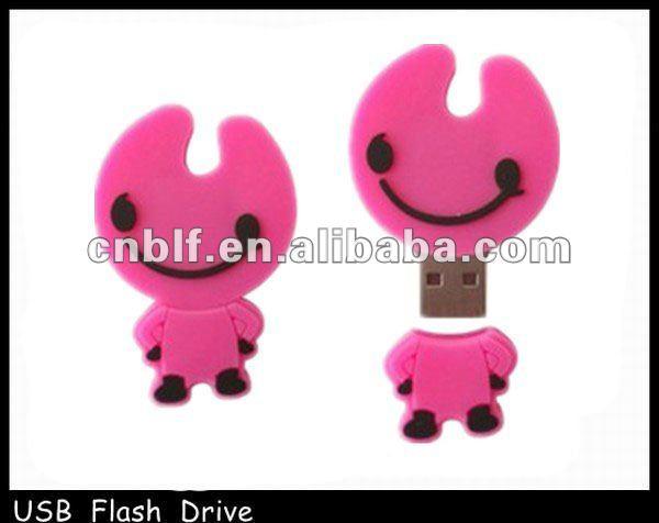 human shaped flash drive, USB drive disk