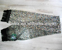 2012 twinkling scarf with sequin