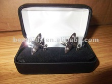 2012 3d airplane shaped cufflinks for men