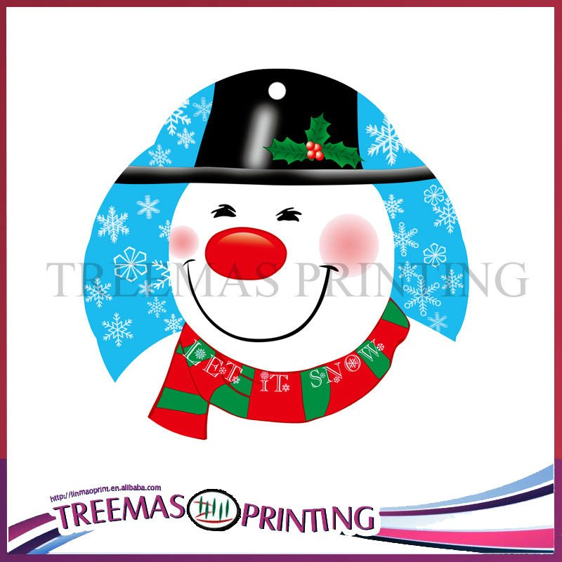 Christmas flavoured perfumed cards / car fresheners /room freshners