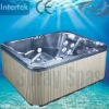 free standing outdoor spa whirlpool massage bathtub E-370S m-spa