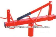 Tire changing tools, tire spreader