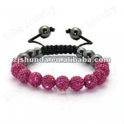 cheap wholesale shamballas crystal bracelet black