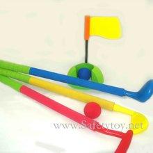 Kidz Sports Crazy Golf / Bottle golf foam rubber plastic golf stick/golf ball