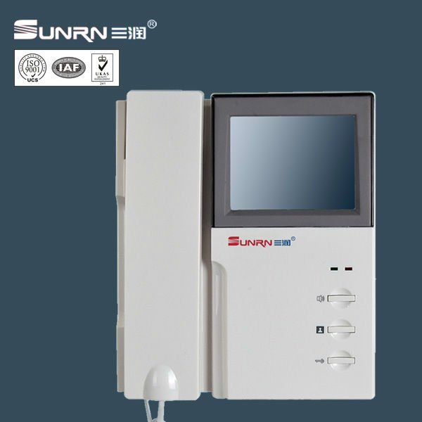 apartment building video intercom system view video