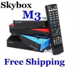 Best Price Skybox M3 sky box M3 mini Satellite receiver Full HD 1080P DVB-S DVB-S2 MPEG4 PVR CCCAM