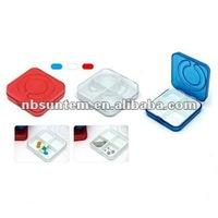 4 Cases Pill Box