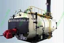 oil/fuel/gas water tube horizontal steam industrial boiler