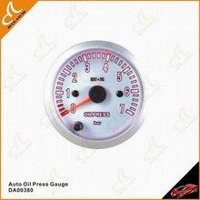 High Quality 7 Color LED Car Oil Pressure Gauge