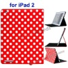 For iPad 2 Leather Stand Case