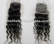 "factory made 4x4 18"" cheap lace closure free shipping"