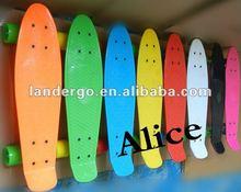 Original plastic skateboard, longboard cruiser(OEM DESIGN)