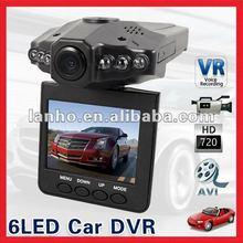 "2.5"" Color TFT LCD 6 IR LED HD Car DVR Camera Audio Video Recorder"