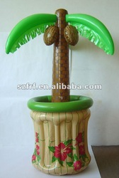 inflatable palm tree ice bucket