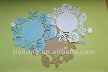 laser cut crafts round felt placemat
