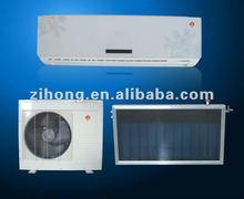 good efficiency hybrid power flatplate type solar collector solar air conditioner
