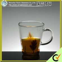 Promotion High Quality Double Wall Drinking Glass With Decal Print