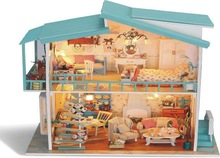 Wooden toys for kids,dream house,toy house