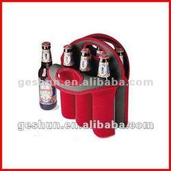 Neoprene 6 bottles wine cooler bag