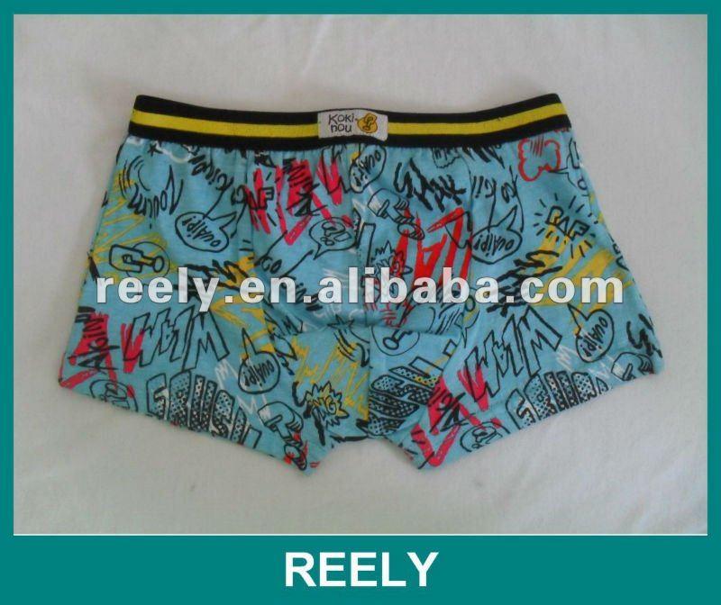 Boys underwear size chart