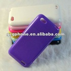 Hot sell TPU material cell phone for HTC one v case with fluorescent powder
