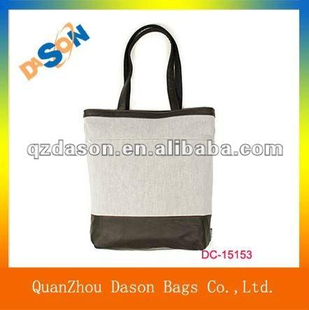 2012 fashion canvas cloth bag