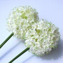 2012 new single green ball Artificial flower