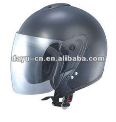 design open face helmets